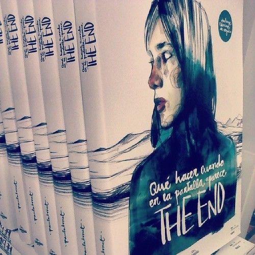"""""""Qué hacer cuando en la pantalla aparece The End"""", el libro de relatos e ilustraciones de @Paula manc Bonet editado por @Lunwerg Editores Editores"""