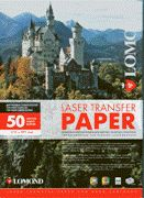 Lomond Thermotransfer Laser Paper A4/50 for Hard Surfaces