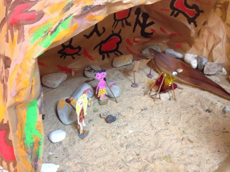 La prehistoria en 3º de infantil