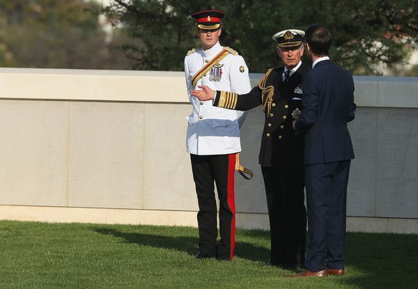 mycrarrythings: The Prince of Wales and Prince Harry attended the Commonwealth and Irish Memorial Service to mark 100 years since the Gallipoli Campaign of World War I, Cape Helles Memorial, Seddulbahir, Turkey, April 24, 2015
