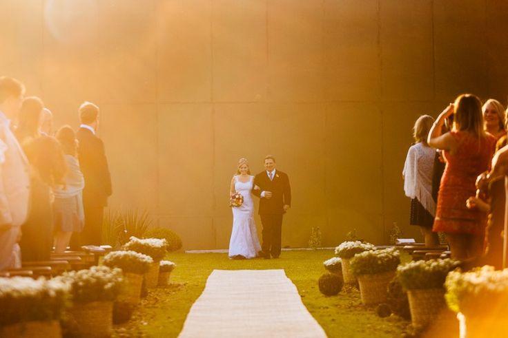 Cestos de gipsofilas para decoração de casamento - Casamento Roberta Kalini &Thiago Sandri