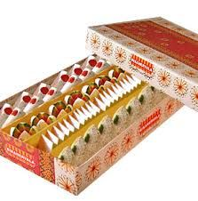 Diwali Special Gifts Bikanervala Exotic Kaju Sweets Mix 1 kg. Birthday Gifts,Anniversary Gifts,Wedding Gifts