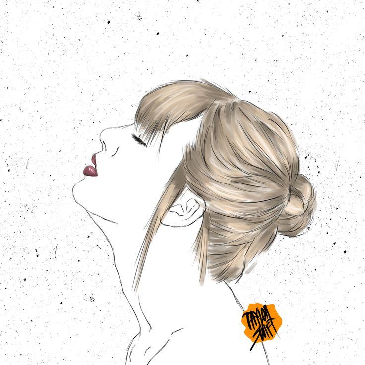 Digital Painting - Taylor Swift