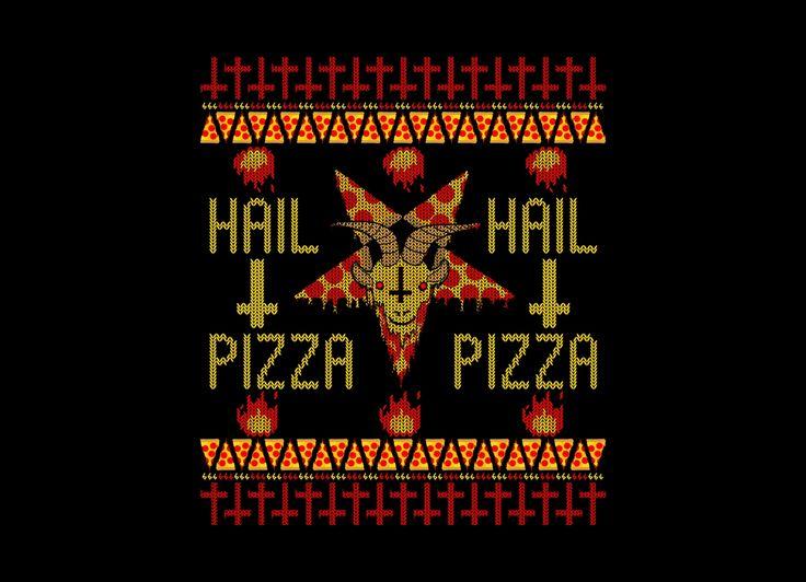 HAIL PIZZA Design by Collin James Diederich