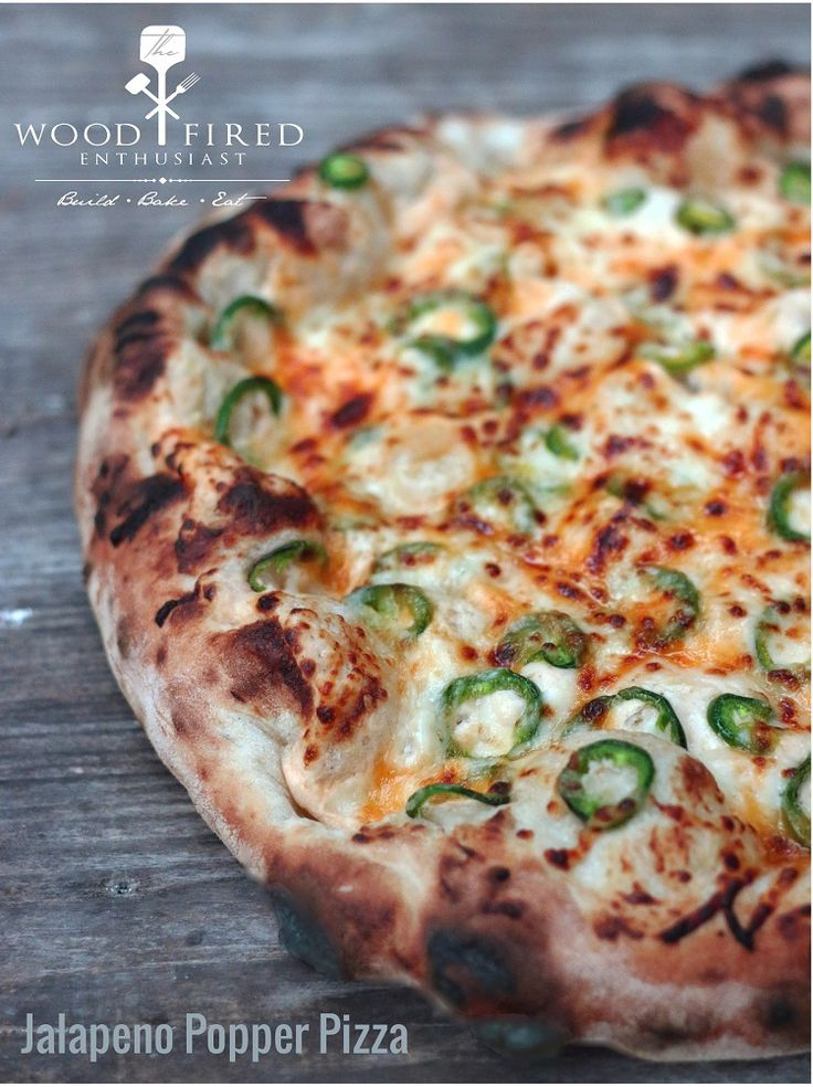 This Jalapeno Popper Pizza is always one of our most popular on pizza night!  The Wood Fired Enthusiast