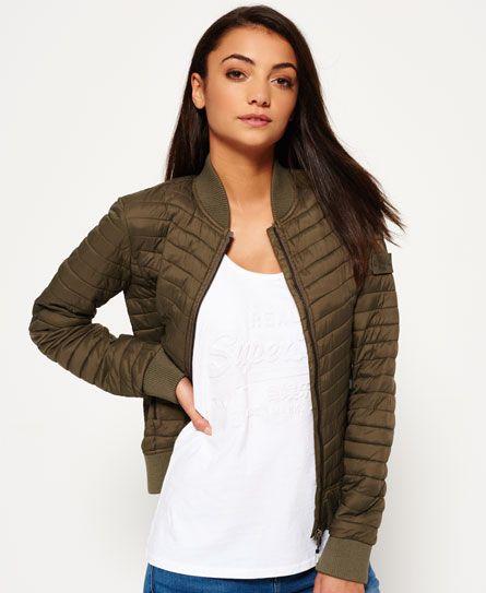 Superdry Vintage Fuji Bomberjacke #jackets #womenswear #womensfashion #style #fashion #outfit  #SUPERDRY
