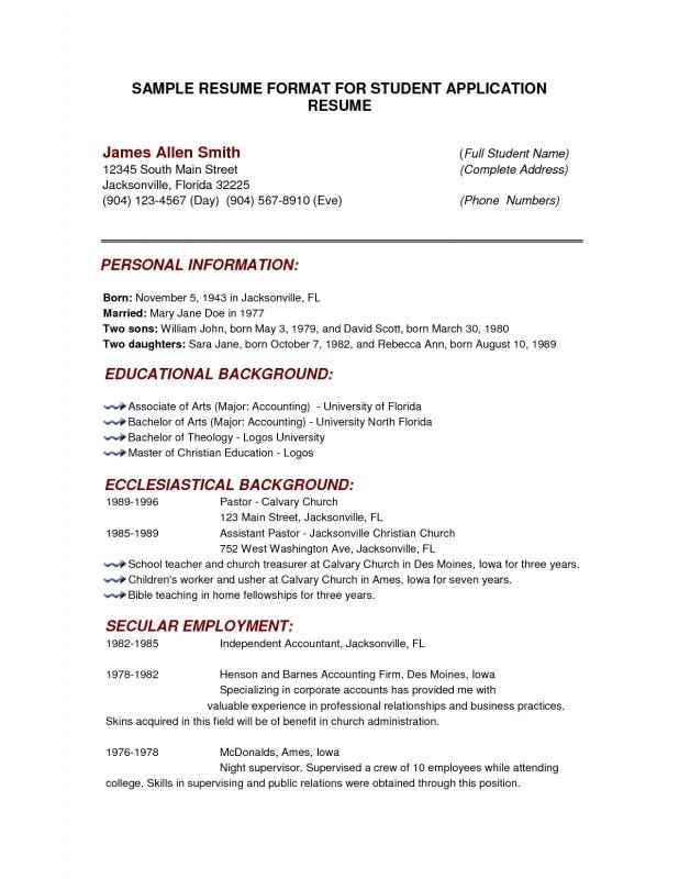 Infolicious College Resume Writing Resume Sample Writing Resume Sample Resume F8fed3a0 Resumesam College Resume Template Basic Resume Resume Template Examples