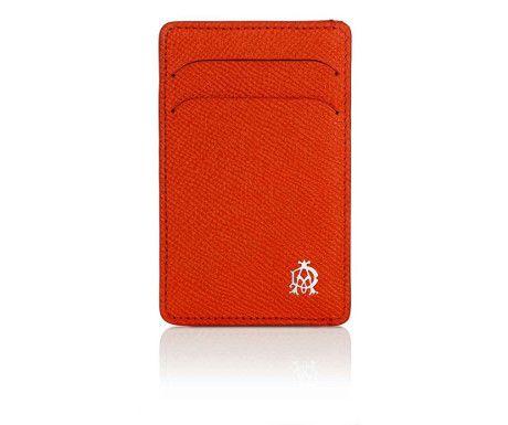 Bourdon Cognac Simple Card Case from Dunhill
