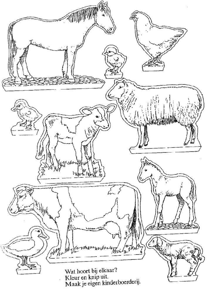 Maak een mooie kijkdoos met boerderij dieren