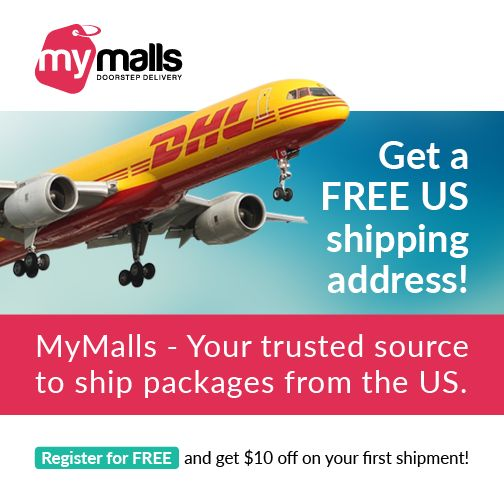 MyMalls - Your trusted source to ship packages from US. Register and get $10 off on your first #shipment.