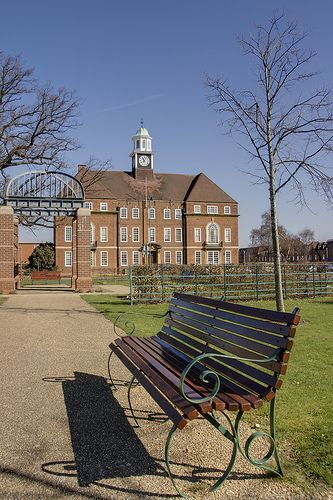 Letchworth Town Hall in Letchworth Garden City