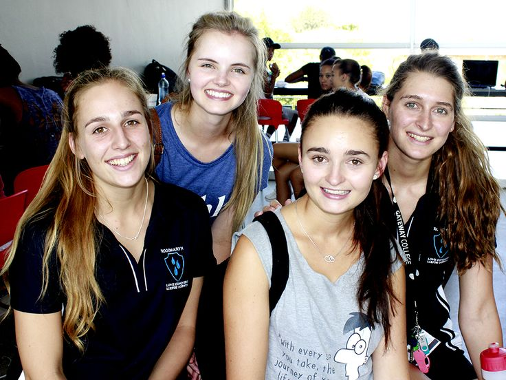 "University of the Free State (UFS): #PeopleOfKovsies #2016FirstYears; ""We feel inspired that suddenly everything is falling into place; our practicals and timetables are sorted out, and we kind of now know where to go without getting lost anymore."" (Photo Credit: Eugene Seegers)"