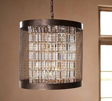 Walk In Closet Lighting Austin Caged Crystal Large Pendant & 15 best front hall lighting images on Pinterest | Hall lighting ... azcodes.com
