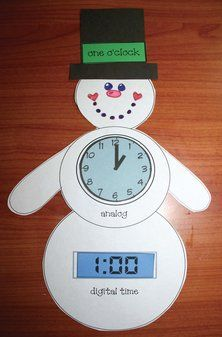 17 best images about math small group activities on for Small clocks for crafts