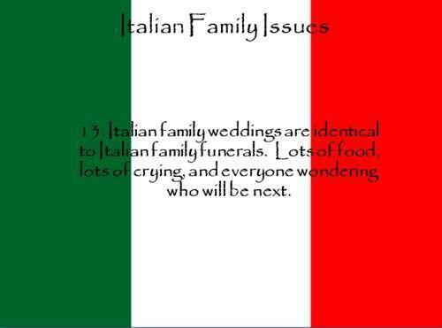 Italian Family Issues