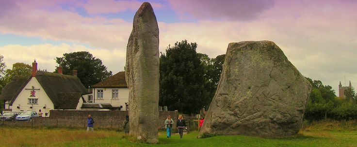 Avebury, Wiltshire, UK.  Travels featured in the Campervan Capers books/blog by Alannah Foley.