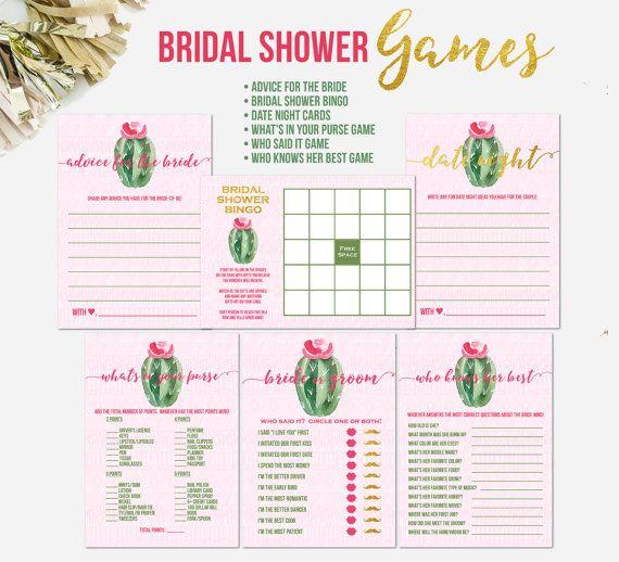 fiesta bridal shower games cactus bridal shower games bridal shower games game cards bridal shower game cards bridal shower activities