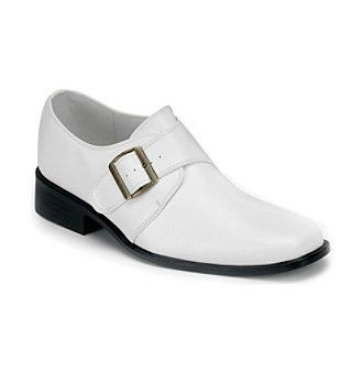 Men's White Loafers