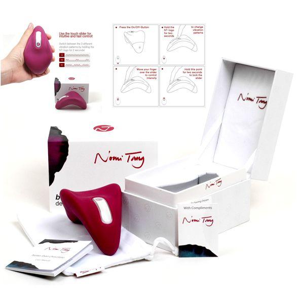 Nomi Tang - Better Than Chocolate luxus vibraattori naisille jotka todella osaavat arvostaa nautintoa. Tämä hi-tech hieromalaite on suunniteltu mahdollisimman helppokäyttöiseksi nautinnon maksimoimiseksi - tämän mahdollistaa hipaisukytkin ja ergonominen muotoilu! Hieromalaite saa aikaan varsin väris
