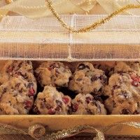 Almond-Cranberry Quinoa Cookies - Bon Appétit