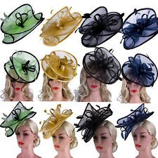 Fascinator Headbands Clips Weddings Ladies Day Race Royal Ascot Hair Accessories