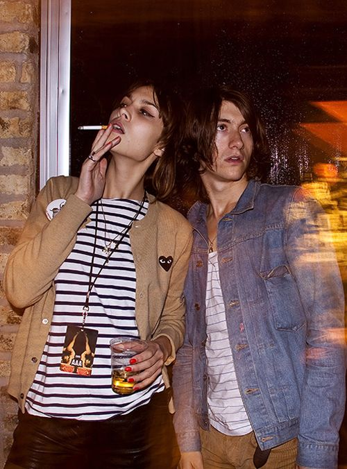 Alexa Chung I'm so weirdly in love with her.