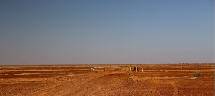 The start or the end (you choose) of the Birdsville Track