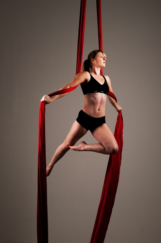 how to set up aerial silks at home