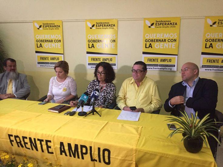 """""""Conquistaremos el Poder Ejecutivo"""", aseguran en el Frente Amplio"""