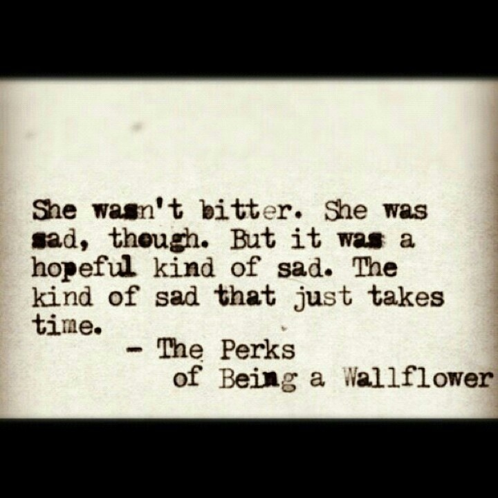 Quote From Perks of Being a Wallflower
