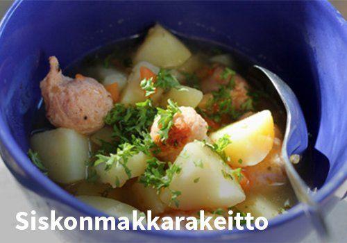 Siskonmakkarakeitto Resepti: Arla #kauppahalli24 #ruoka #resepti #siskonmakkara