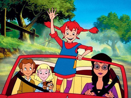 Pippi Longstocking Movie Animated