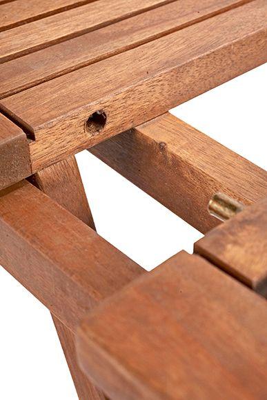 Mesa de madera de acacia  ACACIA PATRICIA Ref. 15958313 - Leroy Merlin