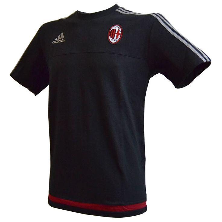 Milan T-Shirt Allenamento Nera 2015-16