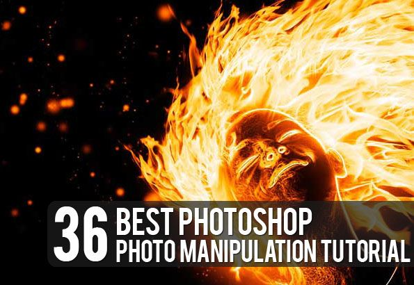 36 Best Photo Manipulation Tutorials