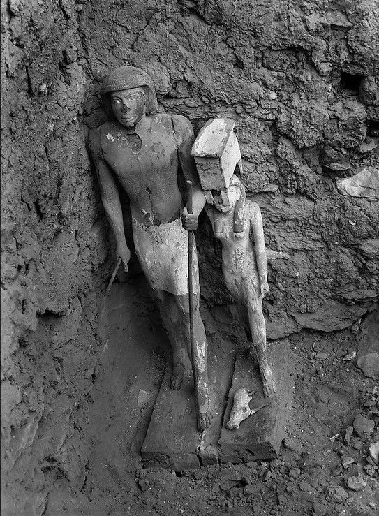 Discovery of the Tomb of Akhethotep, 1941…