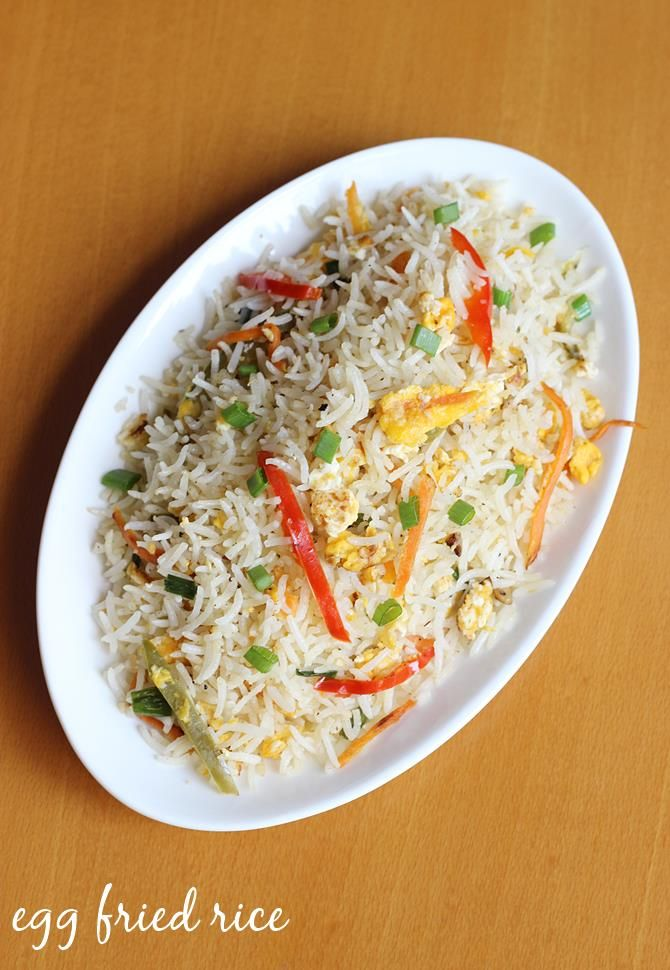 how to make indian egg fried rice