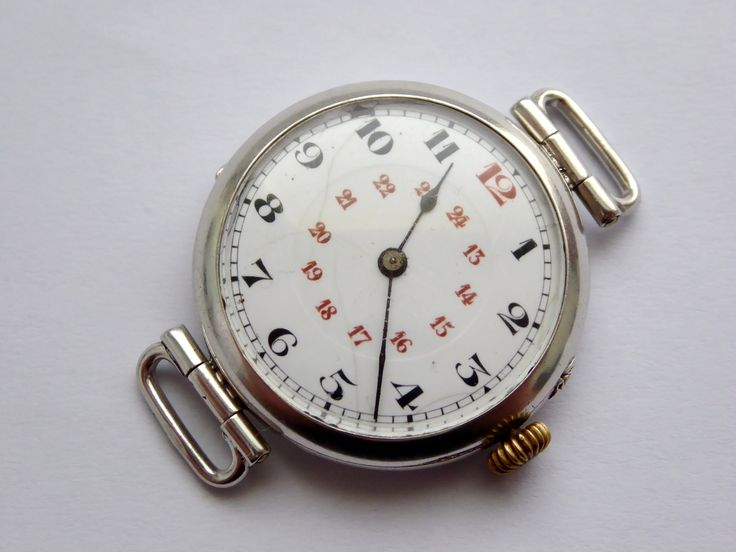 WW1 French Hallmarked Silver Miltary Trench Style Wrist Watch - The Collectors Bag