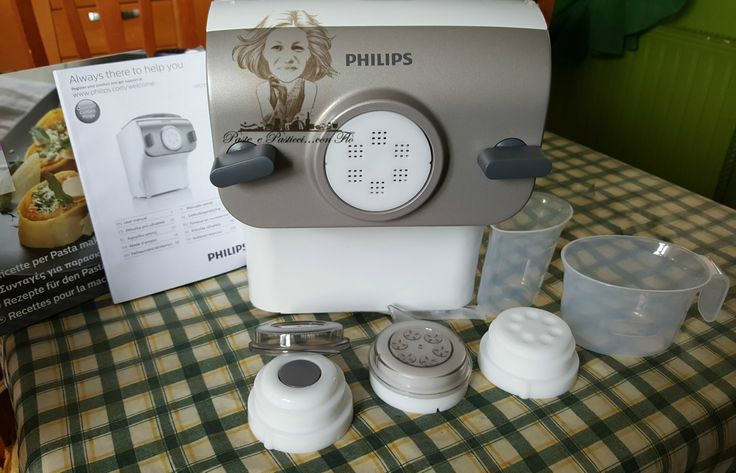 Io+e+la+mia+Pasta+Maker+Philips