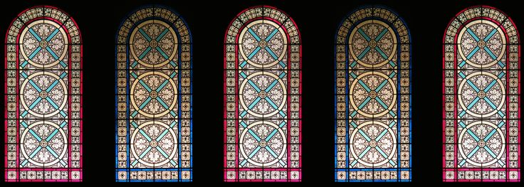 Vetrate per i Monabi Benedettini di Norcia Stained Glass for the Monks of Norcia