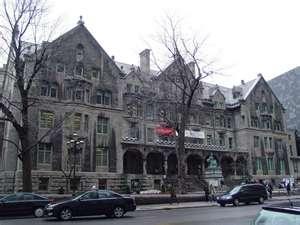 McGill University on Sherbrooke street, Montreal.