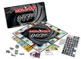 James Bond 007 Monopoly -lautapeli