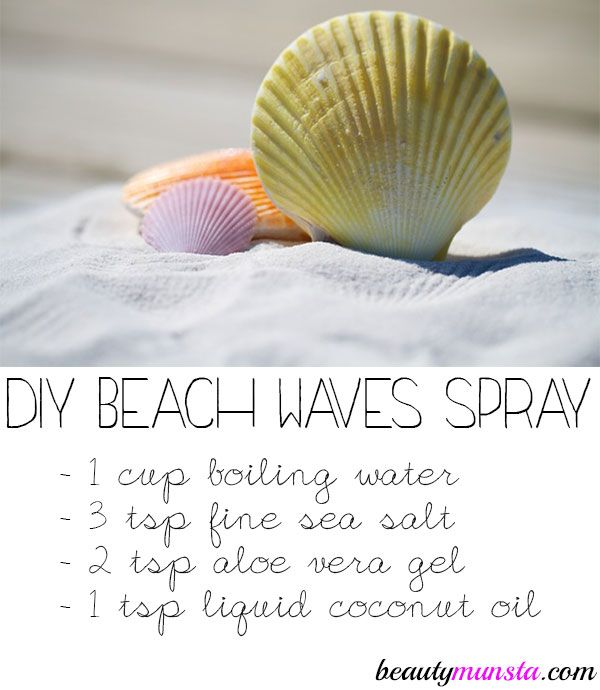Turn your hair into a mass of beautiful beach waves using this DIY sea salt spray for curly hair! This sea salt spray is incredibly easy to make and contains just 4 ingredients. Instead of the aloe vera gel, you can use hair gel or even hair conditioner but to keep things natural, I used …