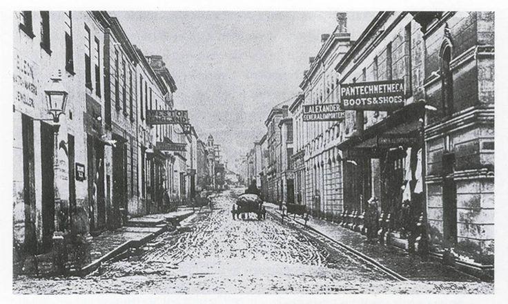 Long market Street Slum Cape Town Cape Colony 1875 UCT MacMillan
