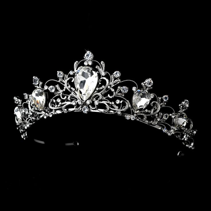 Affordable Elegance Bridal - Rhodium Vintage Inspired Bridal Wedding Tiara, $99.99 (http://www.affordableelegancebridal.com/rhodium-vintage-inspired-bridal-wedding-tiara/)
