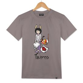 "Taurus among the stars - series of T-shirts ""Polaris"""