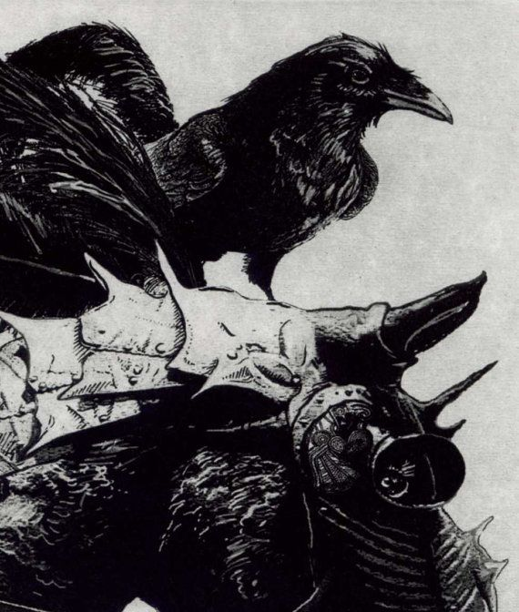 St Crispin's Day October 25th 1415 Raven Series by RAVENSTAMPS, $37.50