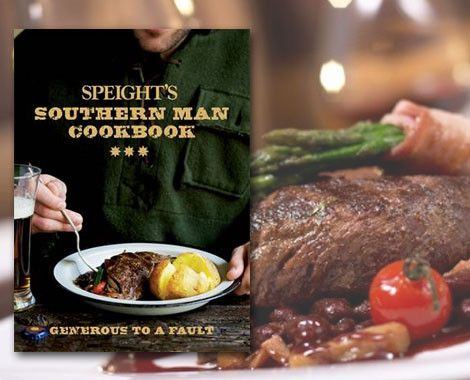 Featuring a good dose of down-to-earth humour in the laconic style. Grab the Speight's Southern Man Cookbook for only $20 from The Book Depot Ltd.  Read through commentary from rugby legends, beer matching from the head brewer and recipes from Speight's Ale House chefs.