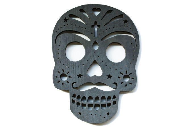 Sugar Skull by Wood and Design