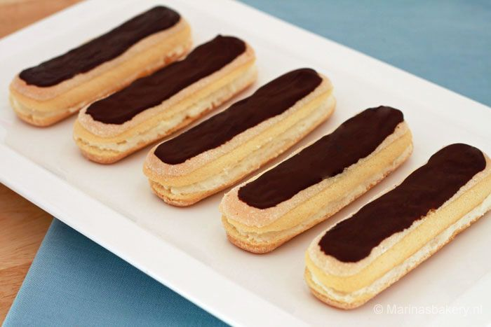 chocolade eclairs